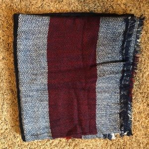 Red White and Blue Large Scarf